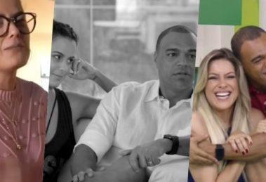 Denilson, casado com Luciele di Camargo, é muito próximo de Renata Fan (Foto montagem: TV Foco)