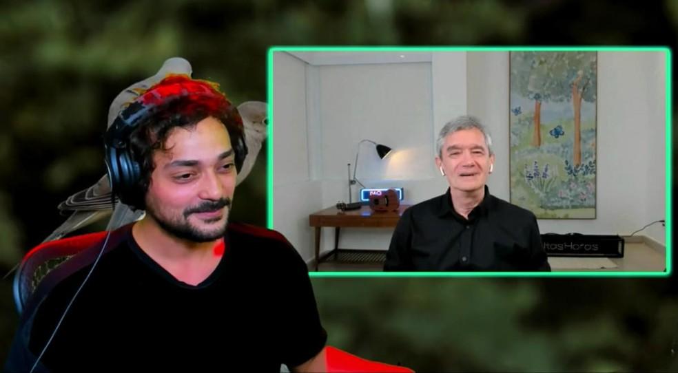 Serginho Groisman em entrevista a Eduardo Sterblitch - Foto: Reprodução