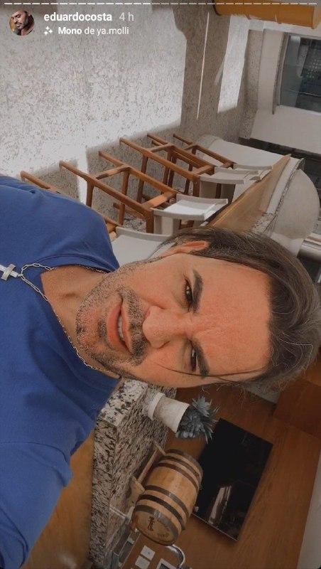 Eduardo Costa fez um desabafo sobre sua vida pessoal e disse que se sente abandonado (Foto: Reprodução)