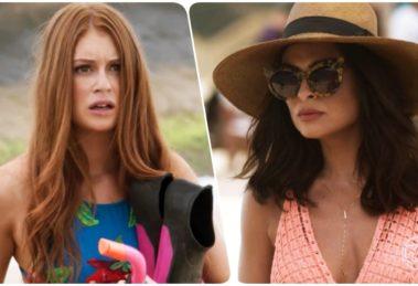 Eliza (Marina Ruy Barbosa) e Carolina (Juliana Paes) em Totalmente Demais (Foto: Reprodução/Globo/Montagem/TV Foco)