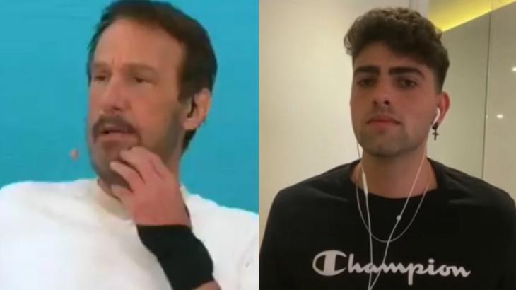 Emilio Surita debochou de Mario no programa Pânico - Foto: Montagem