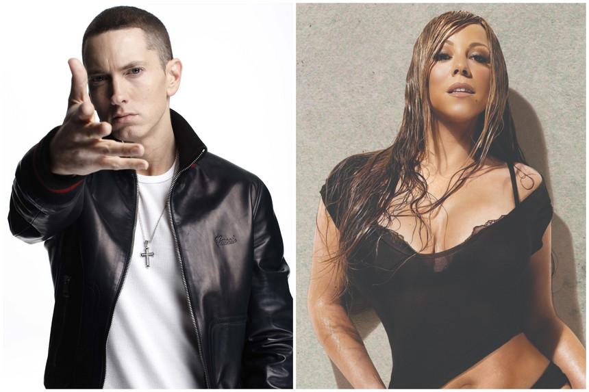 Eminem está apreensivo com o livro de memórias de Mariah Carey (Foto: Reprodução)