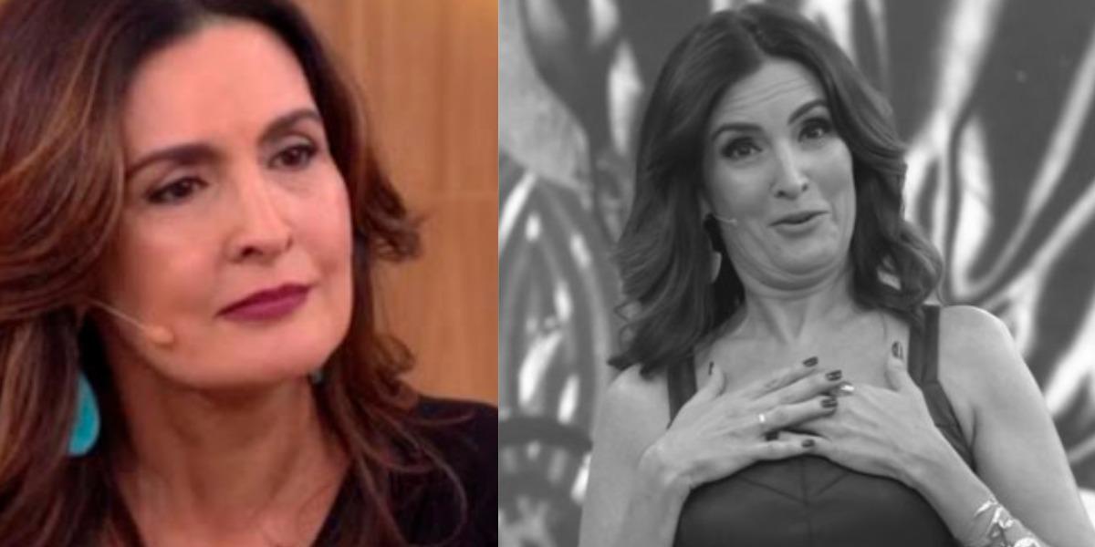 Fátima Bernardes se envolveu em polêmica no Encontro (Foto: Reprodução/TV Globo)