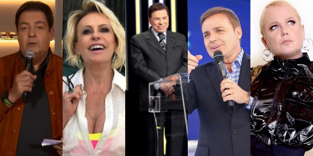 """Silvio Santos e mais apresentadores têm fortunas vazadas: """"R$ 5 ..."""