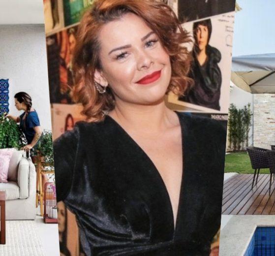 Fernanda Souza vive em uma mansão luxuosa no Rio de Janeiro (Foto montagem: TV Foco)