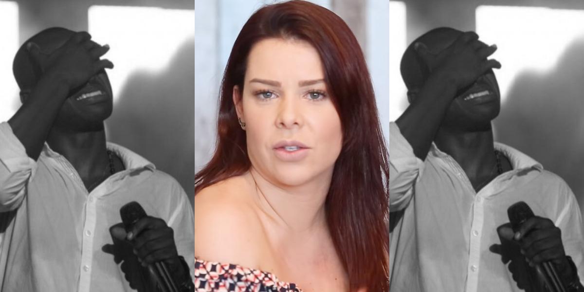 Fernanda Souza e Thiaguinho continuam amigos (Foto: Reprodução/YouTube)