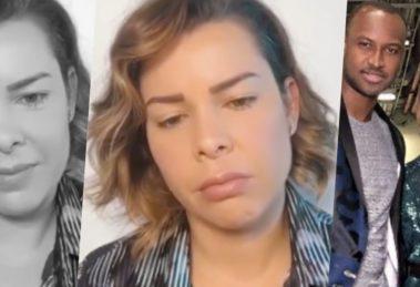 Fernanda Souza, que foi casada com Thiaguinho por oito anos, falou sobre rejeição e abandono (Foto montagem: TV Foco)
