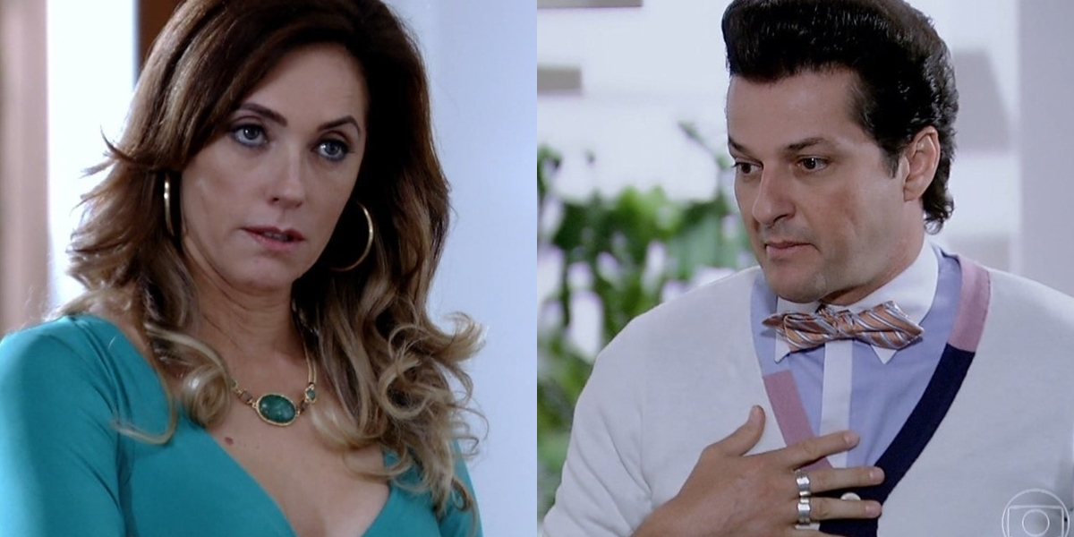 Tereza Cristina (Christiane Torloni) será traída por Crô (Marcelo Serrado) no final de Fina Estampa (Foto: Reprodução/Globo)