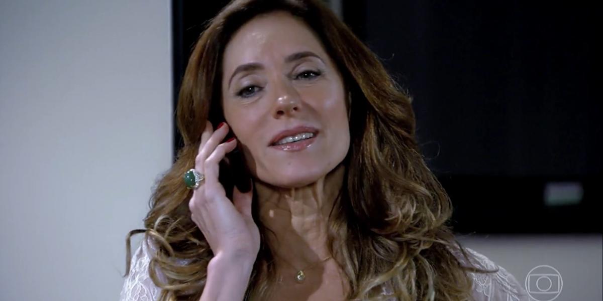 Christiane Torloni (Tereza Cristina) em cena de Fina Estampa, que teve maior audiência desde maio (Foto: Reprodução/Globo)