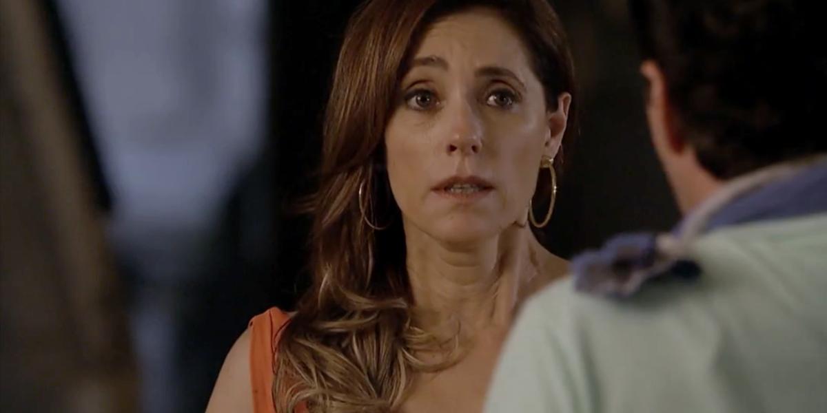 Tereza Cristina (Christiane Torloni) ficará aterrorizada com sósia de Marcela (Suzana Pires) em Fina Estampa (Foto: Reprodução/Globo)