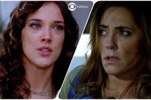 Patrícia (Adriana Birolli) apontará arma para Tereza Cristina (Christiane Torloni) no último capítulo de Fina Estampa (Foto: Reprodução/Globo/Montagem/TV Foco)