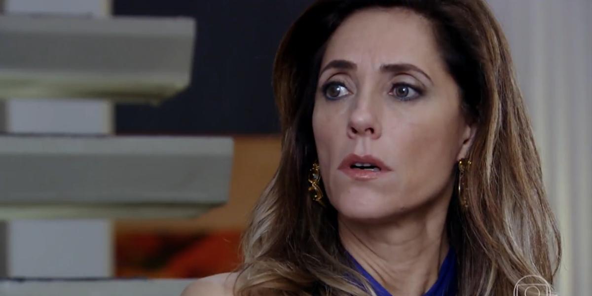 Tereza Cristina (Christiane Torloni) em cena de Fina Estampa, reprisada no horário das nove (Foto: Reprodução/Globo)