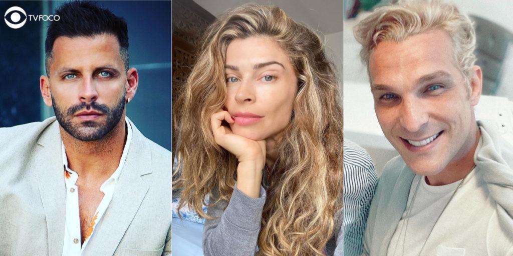 Fotomontagem de Igor Rickli, Grazi Massafera e Henri Castelli são os principais atores de Flor do Caribe