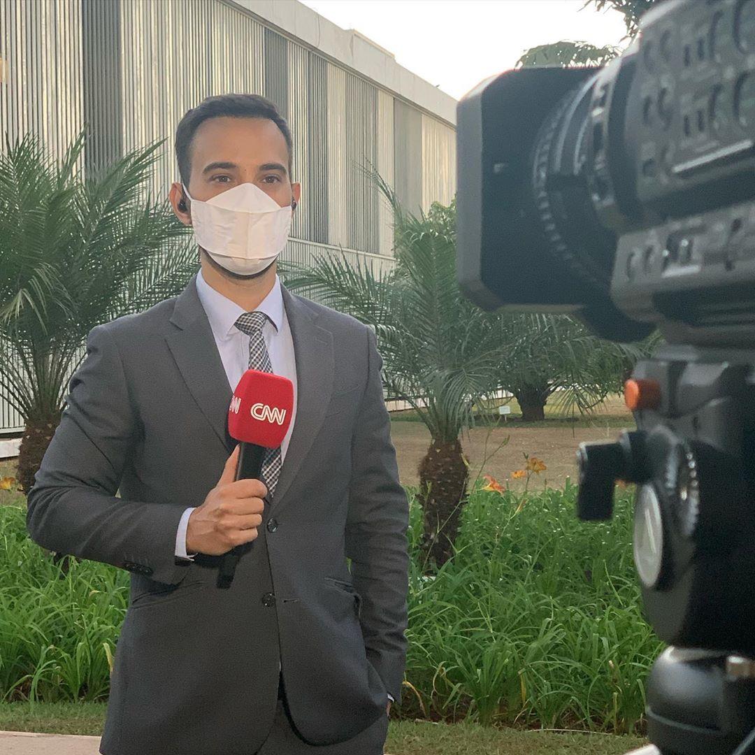 Galton Sé agora faz parte da CNN Brasil - Foto: Reprodução