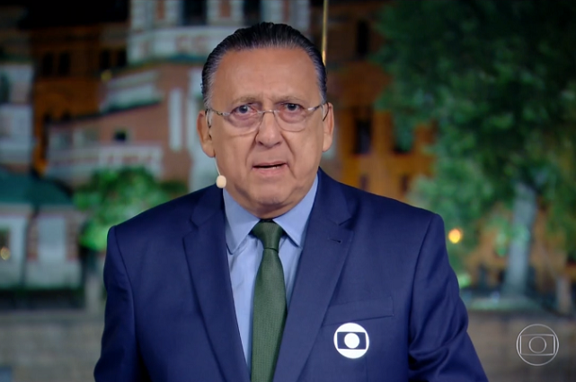 O narrador Galvão Bueno pode ser rebaixado na Globo - Foto: Reprodução