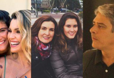 Giulia Costa é filha de Flávia Alessandra e Bia Bonemer é filha de Fátima Bernardes e William Bonner (Foto: Reprodução/Instagram/AgNews)