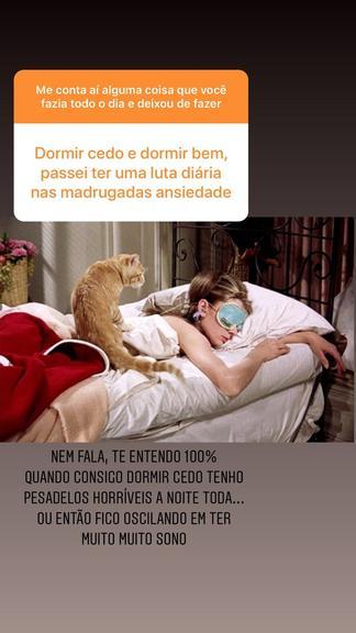 """Giulia Costa luta contra ansiedade durante quarentena: """"Pesadelos horríveis a noite toda"""" - (Foto: Instagram)"""
