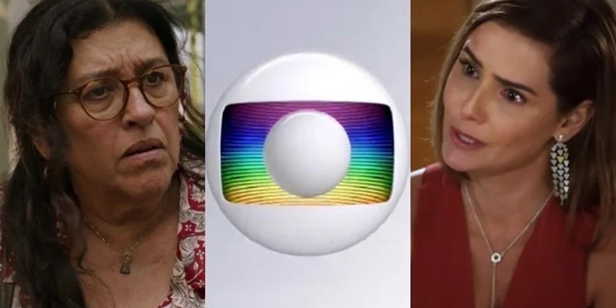 Regina Casé (Lurdes) em Amor de Mãe e Deborah Secco (Alexia) em Salve-se Quem Puder; novelas não devem voltar em 2020 (Foto: Reprodução/Globo)