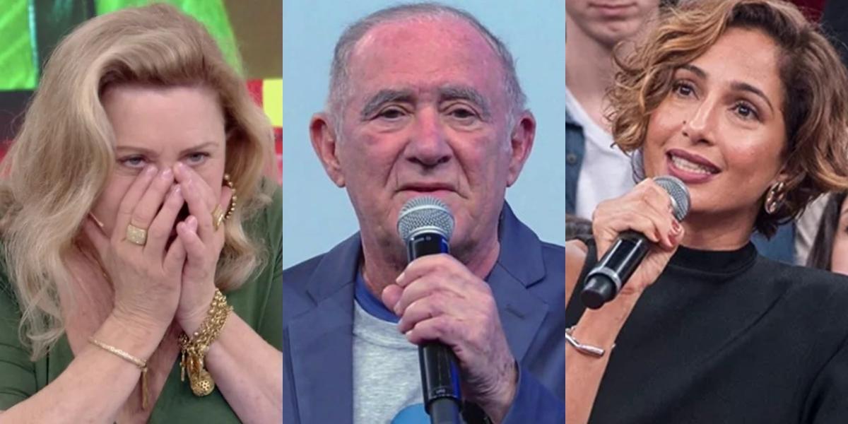 Vera Fischer, Renato Aragão e Camila Pitanga: artistas foram dispensados pela Globo (Foto: Reprodução/Globo/Fábio Rocha)