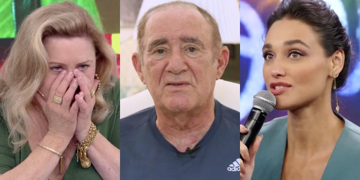 Vera Fischer, Renato Aragão e Débora Nascimento: dispensas da Globo vão de estrelas a novatos (Foto: Reprodução/Globo)