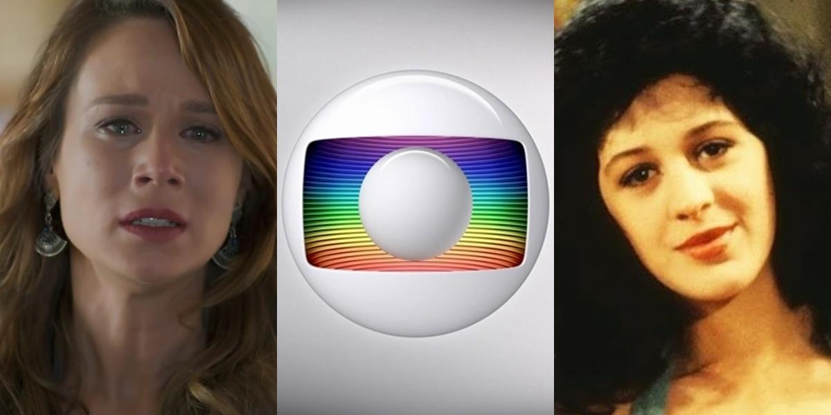 Mariana Ximenes e Claudia Raia como Tancinha em Haja Coração e Sassaricando, respectivamente; novelas voltarão ao ar ao mesmo tempo (Foto: Reprodução/Divulgação/Globo)