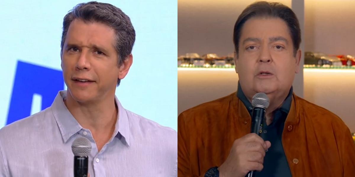 Márcio Garcia registrou baixa audiência prejudicado por mudanças na grade e ibope foi reerguido com Faustão (Foto: Reprodução/Globo)