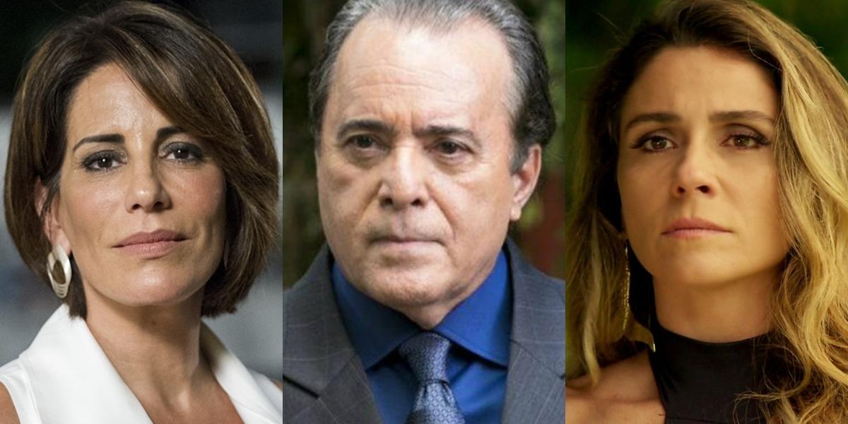 Gloria Pires, Tony Ramos e Giovanna Antonelli estarão nas novas novelas das 21h e 19h, respectivamente (Foto: Reprodução/Globo/Estevam Avellar)