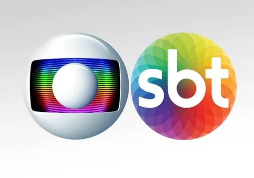 A guerra entre Globo e SBT voltou com tudo - Foto: Reprodução