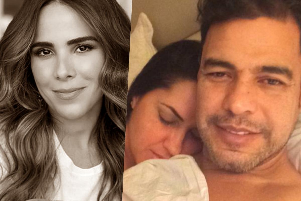 Wanessa, filha de Zezé, está junto do pai e Graciele Lacerda (Foto montagem)