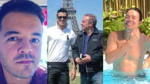 Thiago Salvático, que supostamente namorou Gugu, negou ter sido casado com Guilherme Stangherlin (Foto: Reprodução/Coluna do Leo Dias/Instagram)