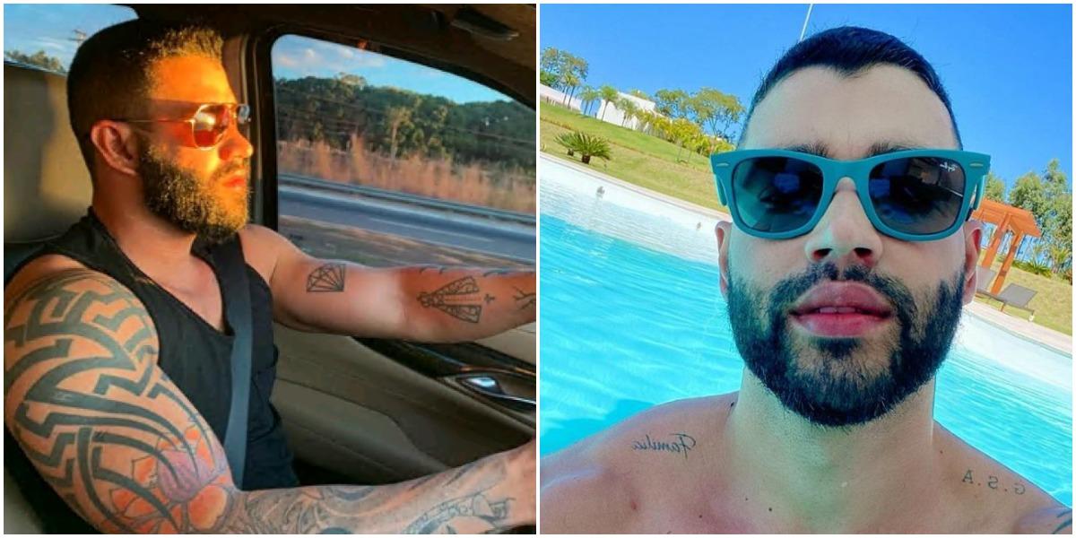 O cantor sertanejo Gusttavo Lima se envolveu em acidente recentemente com um ciclista (Reprodução)