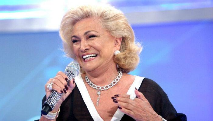 A apresentadora Hebe Camargo (Foto: Divulgação)
