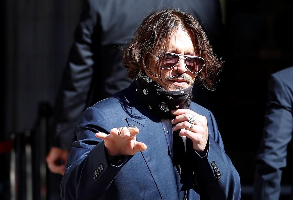 Johnny Depp revela que drogou a filha com 13 anos (Foto: Reprodução)