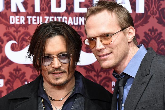 Johnny Depp e Paul Bettany (Foto: Reprodução)