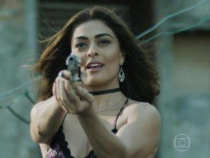 A atriz Juliana Paes como Bibi Perigosa em A Força do Querer (Foto: Divulgação)