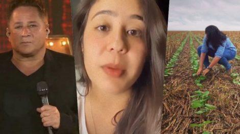 Monyque Costa é a filha desconhecida de Leonardo (Foto montagem: TV Foco)