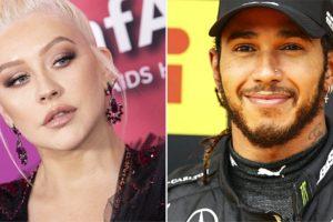 Lewis Hamilton revela parceria com Christina Aguilera (Foto: Reprodução)