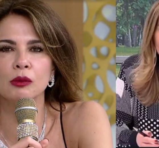 Luciana Gimenez se defendeu no programa de Sonia Abrão (Foto: Reprodução/RedeTV!)