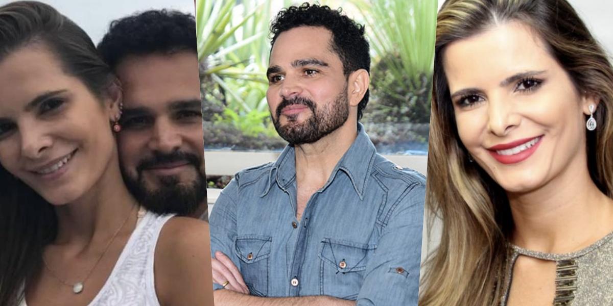 Luciano Camargo é casado com Flávia Fonseca (Foto montagem: TV Foco)