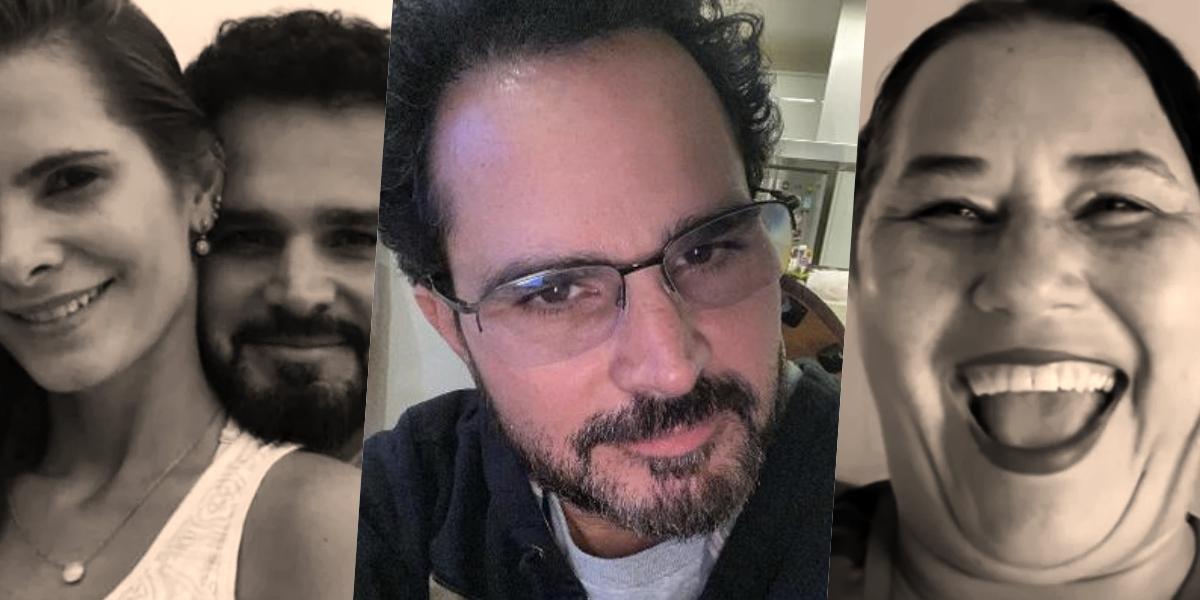 A esposa de Luciano Camargo se envolveu em guerra com a ex do cantor (Foto: montagem)
