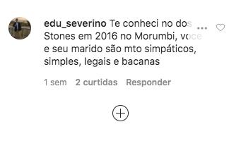Maju Coutinho recebeu um relato de um seguidor (Foto: reprodução/Instagram)