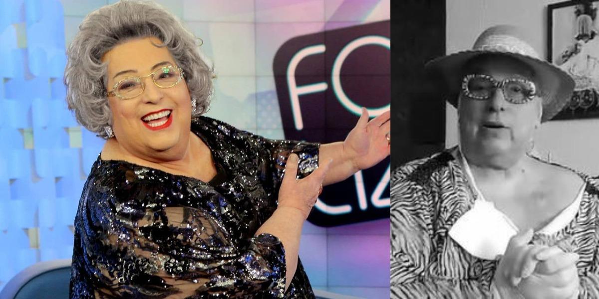 Mamma Bruschetta está afastada do Fofocalizando (Foto: Reprodução/SBT/Instagram)