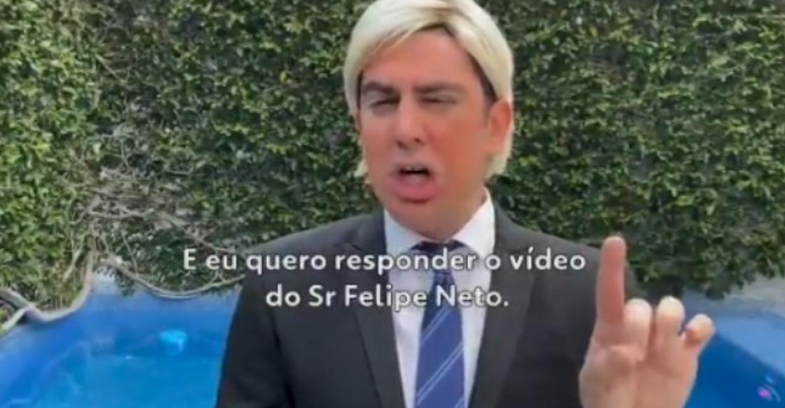 Marcelo Adnet imita Donald Trump e viraliza (Foto: Reprodução)