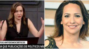 A âncora da Globo News, Maria Beltrão (Reprodução)
