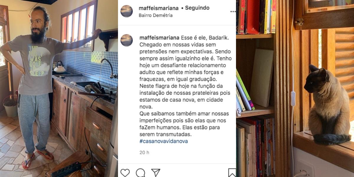 Mariana Maffeis, filha de Ana Maria, em uma nova publicação (Foto: reprodução/Instagram)