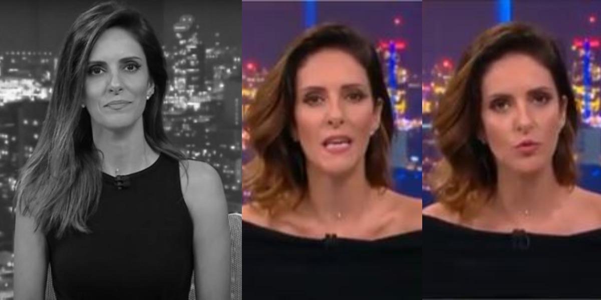Monalisa Perrone perdeu a paciência no Grande Debate (Foto: Reprodução/CNN Brasil)