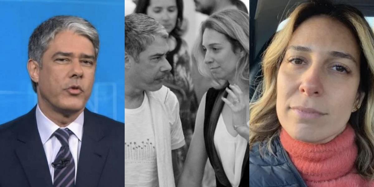 Natasha Dantas é casada com William Bonner (Foto montagem: TV Foco)