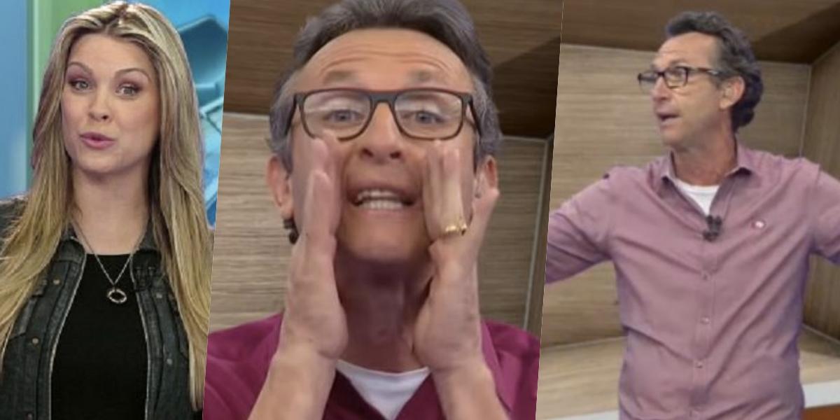 Neto explode com polêmicas (Foto montagem: TV Foco)