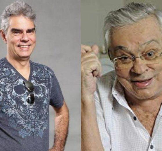 Nizo Neto e Chico Anysio