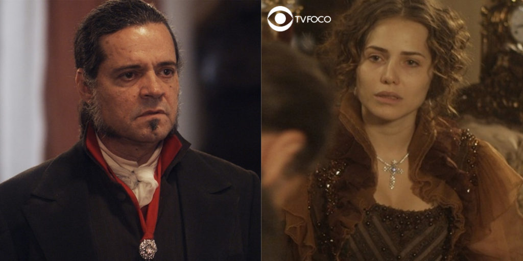 Bonifácio e Leopoldina tem embate em Novo Mundo